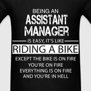 Assistant Manager T-Shirts - Men's T-Shirt