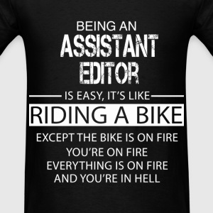 Assistant Editor T-Shirts - Men's T-Shirt