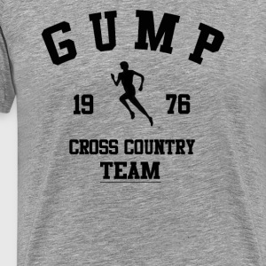 Gump Cross Country Team T-Shirts - Men's Premium T-Shirt