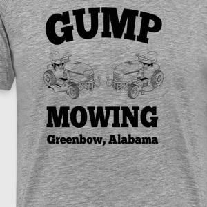 Gump Mowing  T-Shirts - Men's Premium T-Shirt
