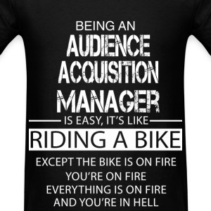 Audience Acquisition Manager T-Shirts - Men's T-Shirt