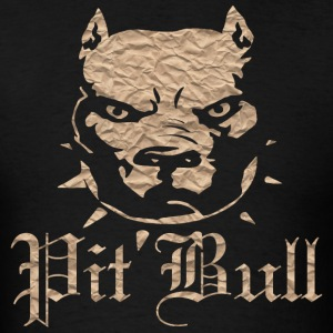 Brown Pit Bull - Men's T-Shirt