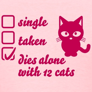 relationship cat T-Shirts - Women's T-Shirt