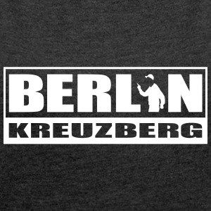 Berlin Kreuzberg T-Shirts - Women´s Rolled Sleeve Boxy T-Shirt