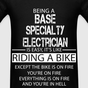 Base Specialty Electrician T-Shirts - Men's T-Shirt