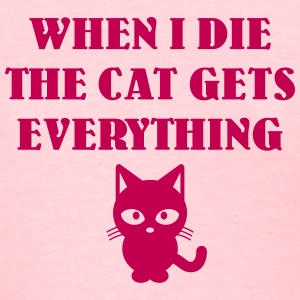 cat gets everything T-Shirts - Women's T-Shirt