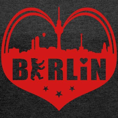 Berlin Skyline Heart