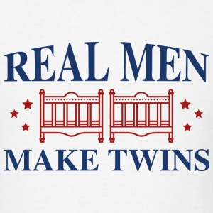 Real Men Make Twins - Men's T-Shirt