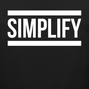 SIMPLIFY GRATEFUL LIFE Sportswear - Men's Premium Tank