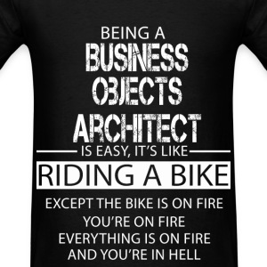 Business Objects Architect T-Shirts - Men's T-Shirt