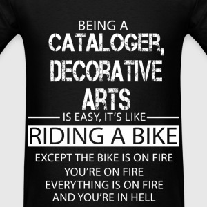 Cataloger, Decorative Arts T-Shirts - Men's T-Shirt