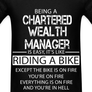 Chartered Wealth Manager T-Shirts - Men's T-Shirt