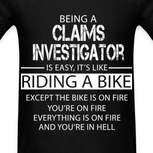 Claims Investigator T-Shirts - Men's T-Shirt