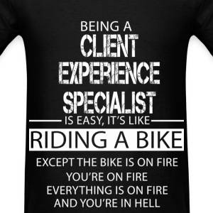 Client Experience Specialist T-Shirts - Men's T-Shirt
