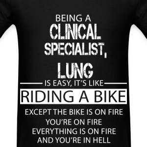 Clinical Specialist, Lung T-Shirts - Men's T-Shirt