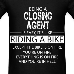 Closing Agent T-Shirts - Men's T-Shirt
