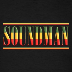 soundman reggae bold - Men's T-Shirt