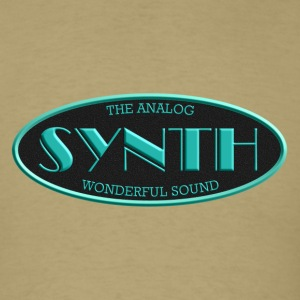 analog synth - Men's T-Shirt