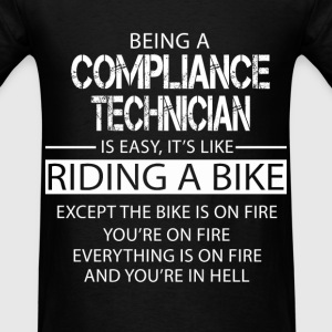 Compliance Technician T-Shirts - Men's T-Shirt
