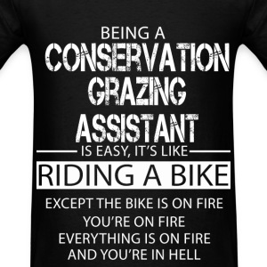 Conservation Grazing Assistant T-Shirts - Men's T-Shirt