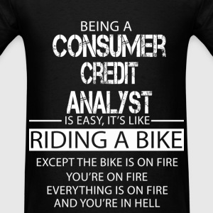 Consumer Credit Analyst T-Shirts - Men's T-Shirt