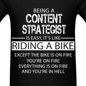 Content Strategist T-Shirts - Men's T-Shirt