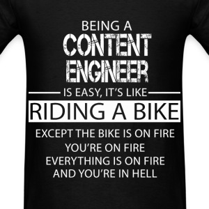 Content Engineer T-Shirts - Men's T-Shirt