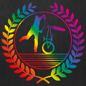 BMX Bicycle rainbow Bags & backpacks - Tote Bag