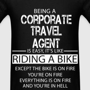Corporate Travel Agent T-Shirts - Men's T-Shirt