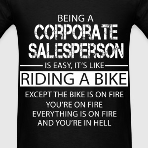Corporate Salesperson T-Shirts - Men's T-Shirt