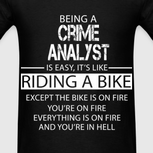 Crime Analyst T-Shirts - Men's T-Shirt