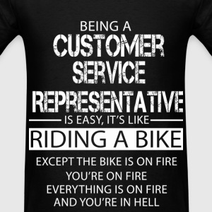 Customer Service Representative T-Shirts - Men's T-Shirt