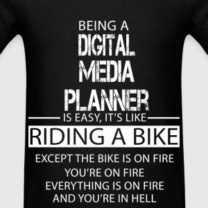 Digital Media Planner T-Shirts - Men's T-Shirt