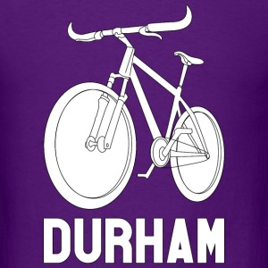 Men's Bike Durham Basic Tee (White Logo) - Men's T-Shirt