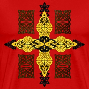 Celtic cross T-Shirts - Men's Premium T-Shirt