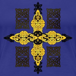 Celtic cross T-Shirts - Women's Premium T-Shirt