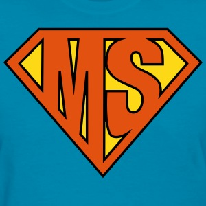 MS Superhero T-Shirts - Women's T-Shirt