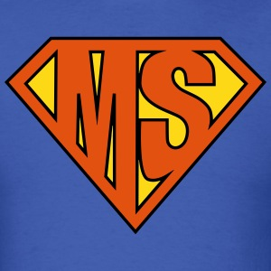 MS Superhero T-Shirts - Men's T-Shirt