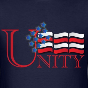 Unity navy blue t shirt - Men's T-Shirt