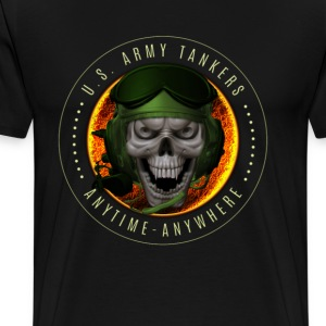 Army Tankers: Anytime/Anywhere - Men's Premium T-Shirt
