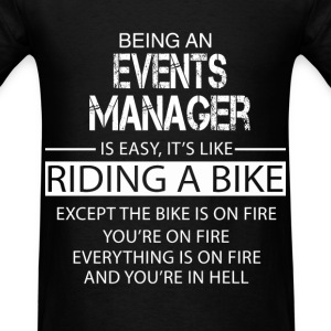 Events Manager T-Shirts - Men's T-Shirt