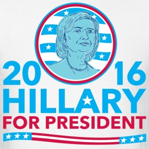 Hillary for President Men's T-Shirt - Men's T-Shirt