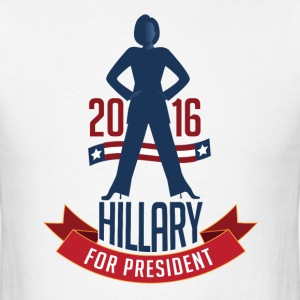 Hillary Clinton for President Men's T-Shirt - Men's T-Shirt