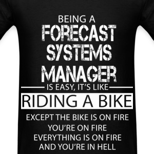 Forecast Systems Manager T-Shirts - Men's T-Shirt