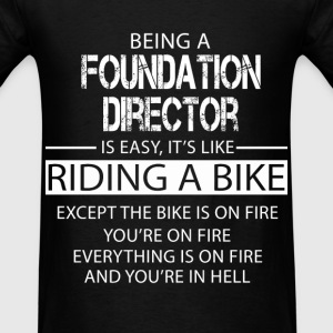 Foundation Director T-Shirts - Men's T-Shirt