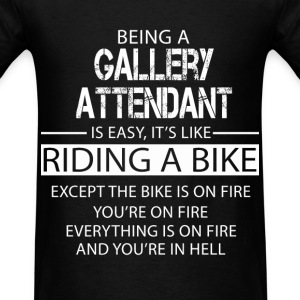 Gallery Attendant T-Shirts - Men's T-Shirt