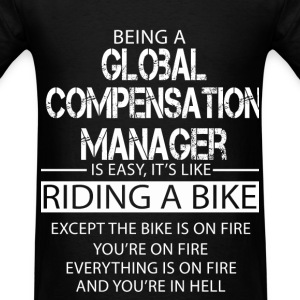 Global Compensation Manager T-Shirts - Men's T-Shirt