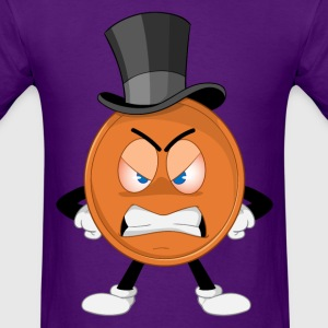 THE UNHAPPY PENNY T-Shirts - Men's T-Shirt