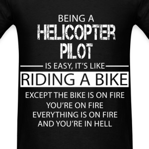 Helicopter Pilot T-Shirts - Men's T-Shirt