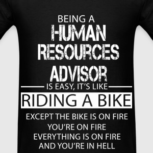 Human Resources Advisor T-Shirts - Men's T-Shirt